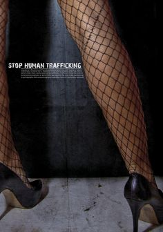 Stop Human Trafficking Poster Campaign   Designer: Agnieszka Gronert   Image 3 of 6