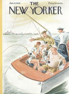 The New Yorker - Saturday, January 8, 1949 - Issue # 1247 - Vol. 24 - N° 46 - Cover by : Constantin Alajalov