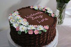 Girl Baby Shower Cake made for Emma!
