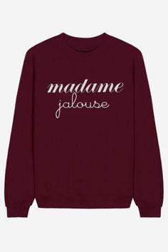 Madame Jalouse - brodé