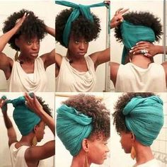 Joli tuto attaché foulard images
