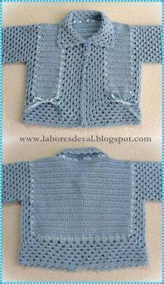 Best crochet sweater for girls jumpers Ideas Crochet Baby Jacket, Crochet Cardigan Pattern, Baby Girl Crochet, Crochet Baby Clothes, Crochet For Boys, Crochet Shawl, Girls Jumpers, Girls Sweaters, Baby Sweaters
