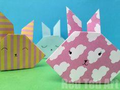 Easy Origami Bunny H