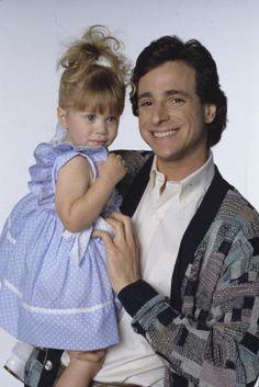 Full House - Season 1, 5/9/88, Ashley Olsen (Michelle Tanner), Bob Saget (Danny Tanner)