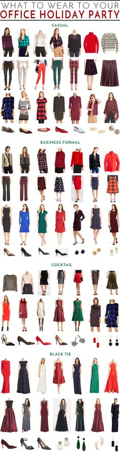 What to wear to your office holiday party - for every type of event