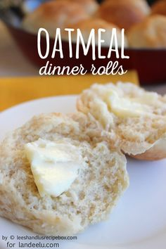 A delicious hearty oatmeal dinner rolls recipe!