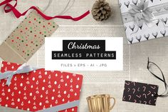 Christmas Patterns @creativework247