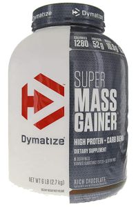 Dymatize Super Mass Gainer Chocolate 6 lbs (Packaging May Vary) - Works great good quality.If you're looking for a weight loss supplements for women re Best Creatine Supplement, Best Mass Gainer, Best Weight Gainer, Sciatica Exercises, Belly Exercises, Knee Exercises, Fitness Exercises, Protein, Creatine Monohydrate