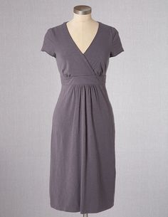 Casual Jersey Dress in Pewter