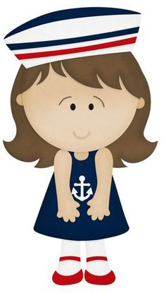 marinero bebe dibujo - Buscar con Google Felt Dolls, Paper Dolls, Sailing Theme, Sailor Party, Pirate Kids, Diy And Crafts, Crafts For Kids, Nautical Party, Baby Disney