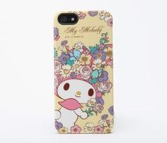 My Melody Die-Cut iPhone 5 Hard Case: Floral