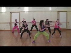 Zumba Class for Beginners 1 - YouTube. I love love love this routine. easy but effective!!!