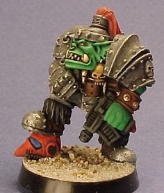 Classic  Rogue Trader Orks Boy # Bolter #B Warhammer 40k