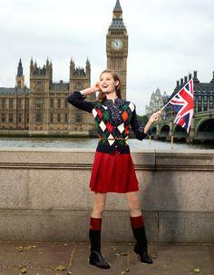 London Chic. Classic cardigan #macysfallstyle
