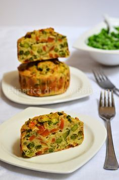 ITALIAN FOOD - TORTINO DI VERDURE AL FORNO (Vegetable Tart)