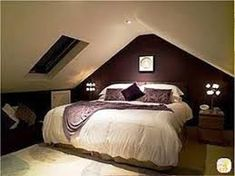 Image result for attic bedroom low ceiling