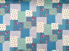NEW Rose & Hubble Patchwork small floral by TheFabricShopUK, £7.99