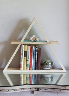 Hey, I found this really awesome Etsy listing at http://www.etsy.com/listing/151330960/wooden-triangle-pine-shelf-display-shelf
