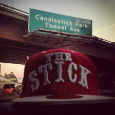 49er  Candlestick Park ... if you know what the stink is all about!