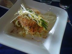 Crab-Crusted Mahi-Mahi:  Narcoosee's (Disney's Grand Floridian)