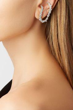 Ana Khouri   Izabel 18-karat gold diamond earring   NET-A-PORTER.COM