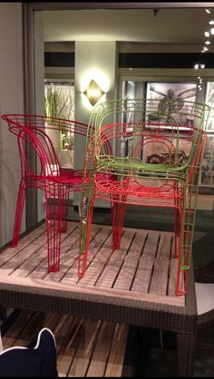 Go to Julia Buckingham Edelmann's boards and click on the board with her name on it-like this picture and repin it to help her win a contest as a Style Spotter at High Point Market! Best of both worlds for indoor or outdoor use.  @palacekdesign IHFC 202 #hpmkt @hpmarketnews