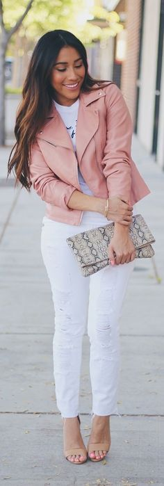 White Denim / Fashion by Andy's Style