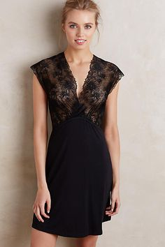 Mimi Holliday Laced Knit Chemise