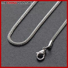 1.9MM 20` STAINLESS STEEL SNAKE CHAIN NECKLACE N3201