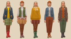 Sims Building, Sims 4 Mm Cc, Maxi Outfits, Sims Hair, Sims 4 Cas, Sims 4 Clothing, Sims Mods, Ts4 Cc, Cold Weather