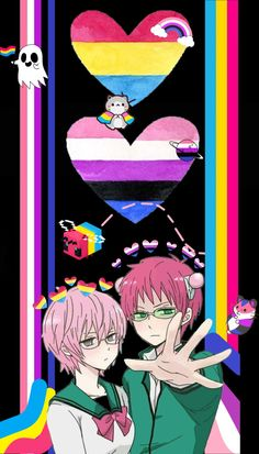Pansexual and gender fluid anime wallpaper