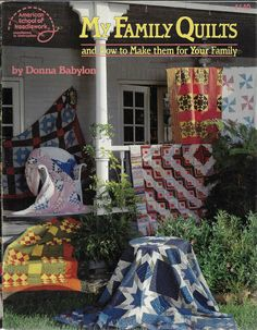 Patchwork Quilt Patterns, Quilting Patterns, My Family, Needlework, Quilts, How To Make, Ebay, Embroidery, Dressmaking