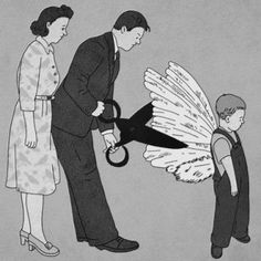 Do not clip our children's wings.