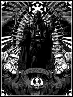 Lord Vader #StarWars this is pretty fucking awesome