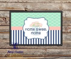 Bring a southern touch to your front door.  Visit us at www.mindymeyer.etsy.com
