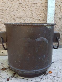 Brass metal pot