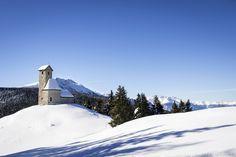 Winter am Vigiljoch oberhalb von Lana.  #Meran #Winter #Vigiljoch #Schnee