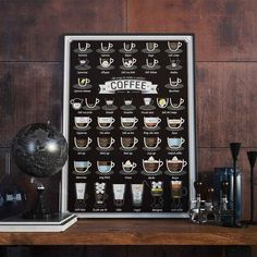 A coffee compendium so you never mix up a latte and a macchiato again.