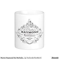 Master Raymond the Herbalist - Outlander Season 2 Classic White Coffee Mug