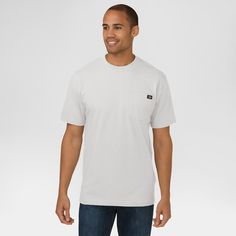 Dickies Men's Big & Tall Cotton Heavyweight Short Sleeve Pocket T-Shirt-