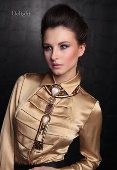 96 Best Satin blouses images  3195188c2784