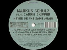 Markus Schulz - Never Be The Same Again (Markus Schulz Coldharbour Club Mix) (2007) - YouTube Markus Schulz, Mixing Dj, Never, Club, Youtube, Youtubers, Youtube Movies