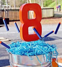 You are in the right place about camo Nerf Party Here we offer you the most beautiful pictures about Nerf Birthday Party, Nerf Party, Dj Party, 10th Birthday Parties, 8th Birthday, Birthday Ideas, Birthday Table Decorations, Birthday Party Centerpieces, Battle Party