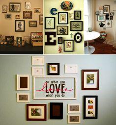 Evite gastar na hora de decorar a parede