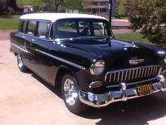 55 Chevy Bel Air Wagon