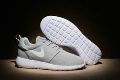 purchase cheap ae972 0327b nouvelle arrivee Nike Roshe Run White blanc Metallic Silver 511881 103 Mens  Womens Running Shoes New Youth Big Boys Shoes