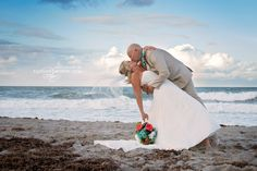 Bride and Groom on beach kissing dip, Photography by Roxann Morin Cancun Wedding, Kissing, Bride Groom, Dip, Beach, Photography, Salsa, Photograph, Seaside