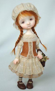 Peggy - original doll by Ana Salvador