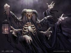 Nightmare, Ian Llanas on ArtStation at https://www.artstation.com/artwork/nightmare-4b7969b5-d846-4e39-ad3a-8ef034d6c037