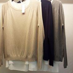 #maglia #newwww #beige ##blu #grigio #valeria #abbigliamento